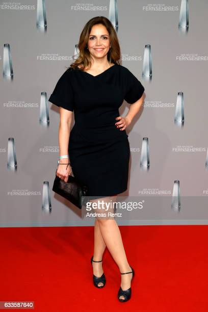 Rebecca Immanuel attends the German Television Award at Rheinterrasse on February 2 2017 in Duesseldorf Germany