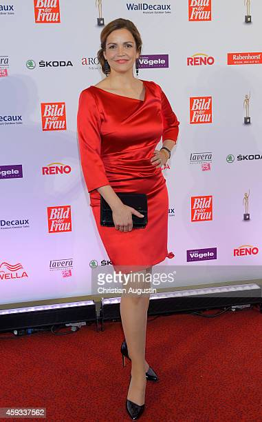 Rebecca Immanuel attends the 'Goldene Bild Der Frau' Award 2014 at TUI Operettenhaus on November 20 2014 in Hamburg Germany