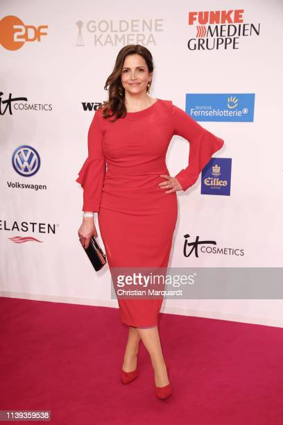 Rebecca Immanuel attends the Goldene Kamera at Tempelhof Airport on March 30 2019 in Berlin Germany