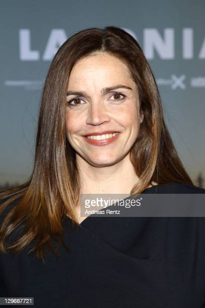 Rebecca Immanuel attends the Laconia Premiere at Astor Film Lounge on October 19 2011 in Berlin Germany