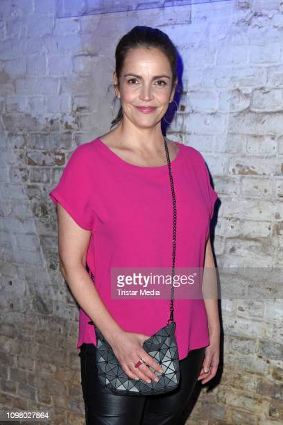 Rebecca Immanuel attends the Pantaflix Pantaparty during 69th Berlinale International Film Festival at Alte Muenze on February 11, 2019 in Berlin,...