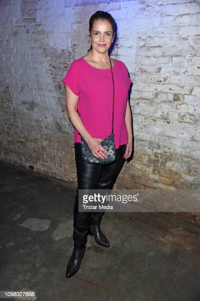 Rebecca Immanuel attends the Pantaflix Pantaparty during 69th Berlinale International Film Festival at Alte Muenze on February 11 2019 in Berlin...