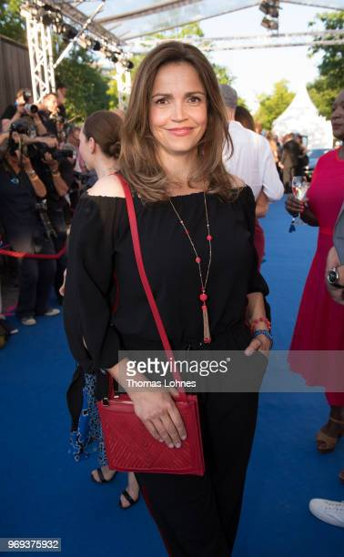 Rebecca Immanuel attends the summer party 2018 of the German Producers Alliance on June 7 2018 in Berlin Germany