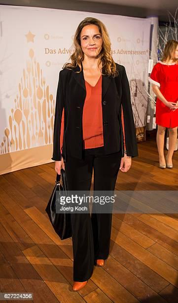 Rebecca Immanuel during the ARD advent dinner hosted by the program director of the tv station Erstes Deutsches Fernsehen at Hotel Bayerischer Hof on...