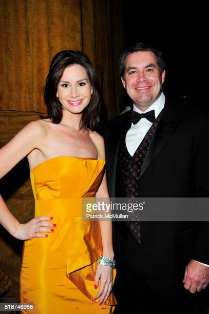 Rebecca Jarvis and Dr Robert Grant attend 2010 American Theater Wing Gala at Cipriani 42nd NYC on June 7 2010