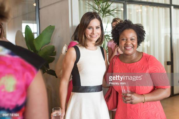 Rebecca Jarvis attends Special Women's Power Lunch Hosted by Tina Brown at Spring Place on June 19 2017 in New York City