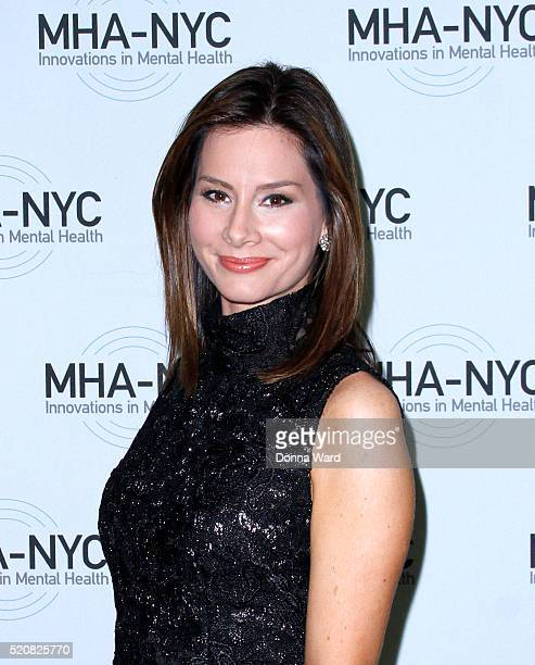 Rebecca Jarvis attends the 2016 Many Faces of Mental Health Gala at The Pierre Hotel on April 12 2016 in New York City