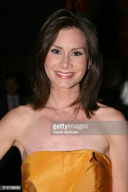 Rebecca Jarvis attends The American Theatre Wing's 2010 Annual Spring Gala at Cipriani's 42nd St on June 7 2010 in New York
