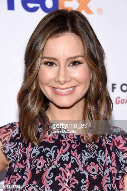 Rebecca Jarvis attends the Dress for Success Be Bold Gala at Cipriani Wall Street on April 18 2018 in New York City