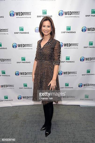 Rebecca Jarvis attends Women's Entrepreneurship Day 2016 at United Nations on November 18 2016 in New York City