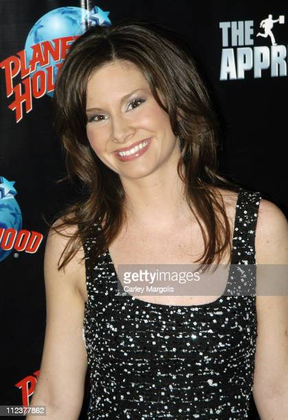 Rebecca Jarvis during The Apprentice 4 Finale After Party Red Carpet at Planet Hollywood in New York City New York United States