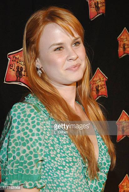 Rebecca Johnson during Molly Sims Hosts the 3rd Annual Night with the Friends of El Faro Benefit at Henry Fonda Theatre in Los Angeles California...