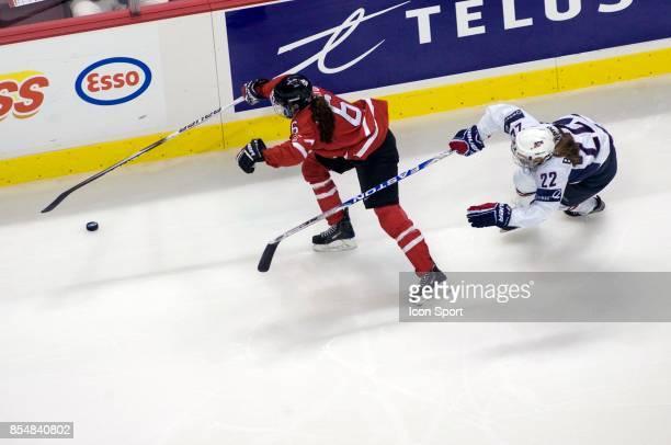 Rebecca JOHNSTON / Kacey BELLAMY - - USA / Canada - Finale Canada Cup - Vancouver - Canada,