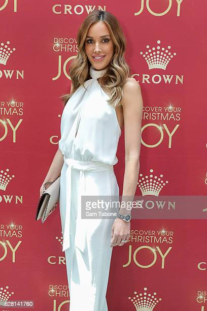 Rebecca Judd attends Ann Peacock's Women in Media Christmas Luncheon at The Atlantic at Crown Casino on December 7 2016 in Melbourne Australia