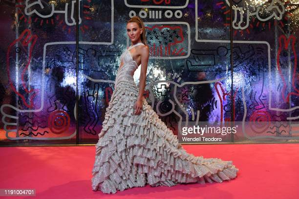 Rebecca Judd attends the NGV Gala 2019 at the National Gallery of Victoria on November 30 2019 in Melbourne Australia