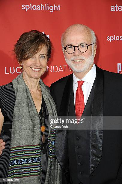 Rebecca Kennerly and David Hume Kennerly attend 13th Annual Lucie Awards at Zankel Hall Carnegie Hall on October 27 2015 in New York City