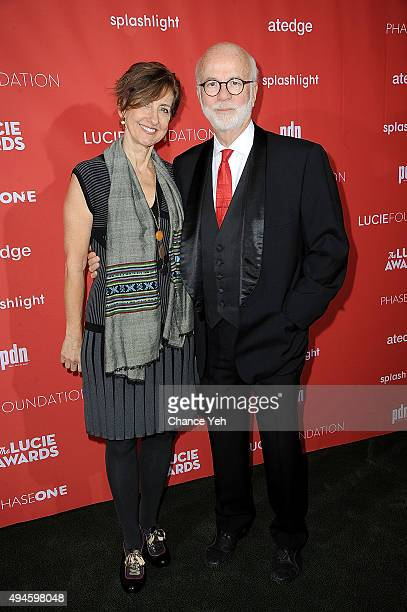Rebecca Kennerly and David Hume Kennerly attend 13th Annual Lucie Awards at Zankel Hall, Carnegie Hall on October 27, 2015 in New York City.