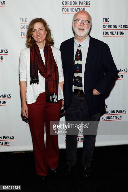 Rebecca Kennerly and David Hume Kennerly attend the 2016 Gordon Parks Foundation Annual Gala at Cipriani 42nd Street on June 6 2017 in New York City