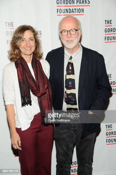 Rebecca Kennerly and David Kennerly attend the Gordon Parks Foundation Awards Dinner Auction at Cipriani 42nd Street on June 6 2017 in New York City
