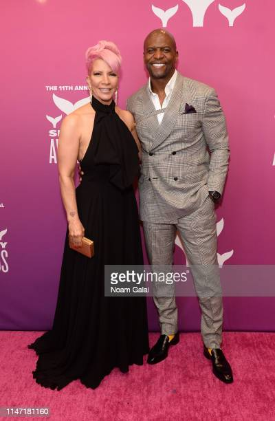 Rebecca KingCrews and Terry Crews attend the 11th Annual Shorty Awards on May 05 2019 at PlayStation Theater in New York City