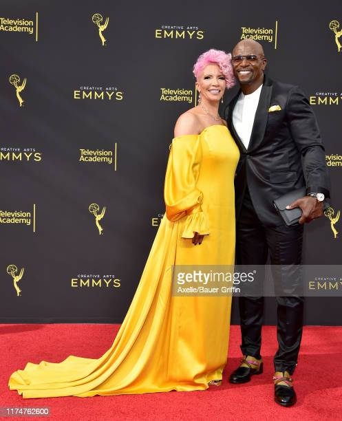 Rebecca KingCrews and Terry Crews attend the 2019 Creative Arts Emmy Awards on September 14 2019 in Los Angeles California