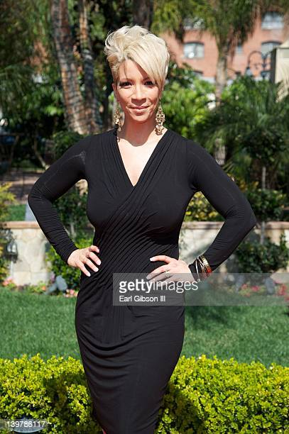Rebecca KingCrews attends the 2012 Gospel Goes To Hollywood Awards Luncheon at the Taglyan Cultural Complex on February 24 2012 in Hollywood...