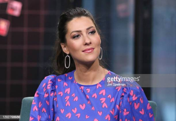 """Rebecca Kufrin attends the Build Series to discuss """"The Bachelor Live On Stage"""" Tour at Build Studio on January 29, 2020 in New York City."""