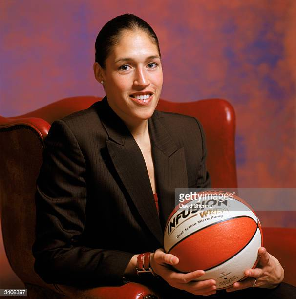 Rebecca Lobo poses for a portrait during the 2004 NBA AllStar Weekend on February 13 2004 at Staples Center in Los Angeles California NOTE TO USER...