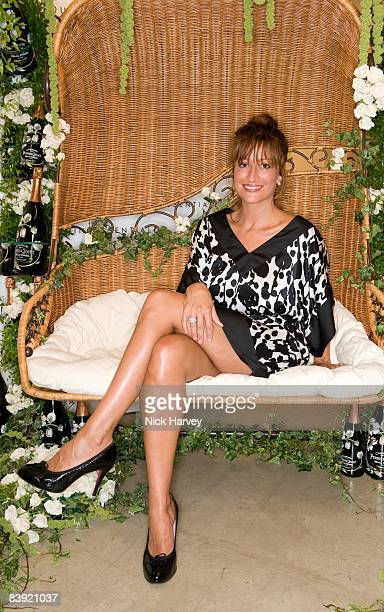Rebecca Loos attends The Quintessentially Summer Arts Party at Phillips de Pury & Company on July 9, 2008 in London, England.