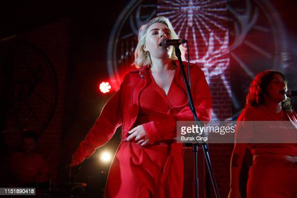 Rebecca Lucy Taylor of Self Esteem performs during All Points East Festival at Victoria Park on May 26 2019 in London England