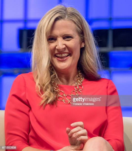 Rebecca Lynn CoFounder Canvas Ventures discusses on 'ICO hype or revolution' during the second day of Web Summit in Altice Arena on November 07 2017...