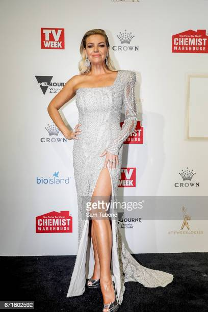 Rebecca Maddern arrives at the 59th Annual Logie Awards at Crown Palladium on April 23 2017 in Melbourne Australia