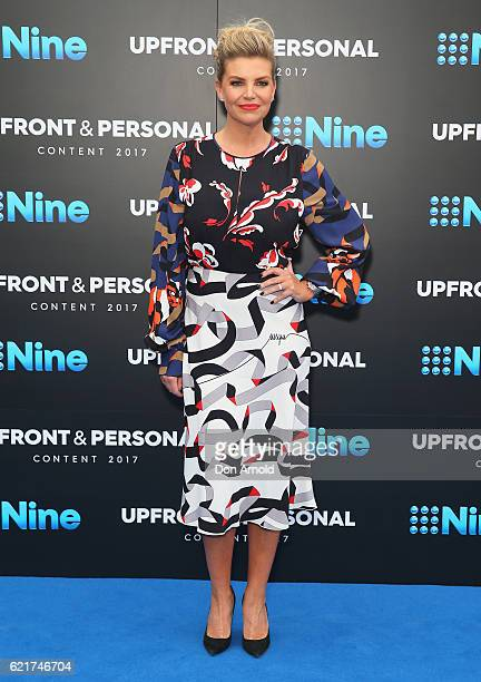 Rebecca Maddern poses during the Channel Nine Upfronts at The Star on November 8 2016 in Sydney Australia