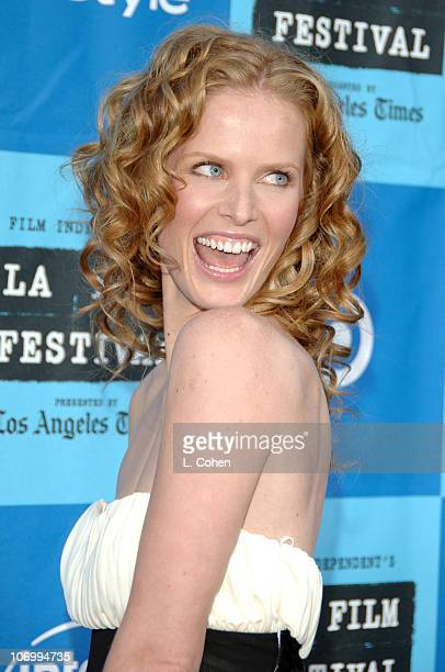 "Rebecca Mader during 2006 Los Angeles Film Festival Opening Night - ""The Devil Wears Prada"" - Red Carpet at Mann Villiage Theatre in Westwood,..."
