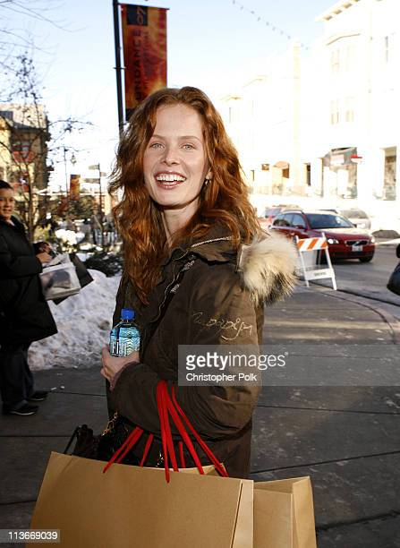 Rebecca Mader during 2007 Park City - Seen Around Town - Day 5 at Streets of Park City in Park City, Utah, United States.