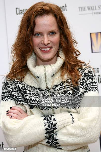 Rebecca Mader during 2007 Park City The Wall Street Journal Weekend Edition Presents Creative Coalition Mentor Sessions at Cafe Brilliant in Park...