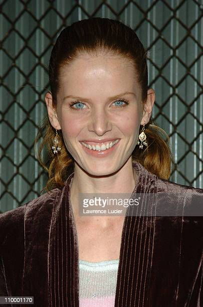 Rebecca Mader during Alone In The Dark Special Release Party Hosted by Tara Reid at QUO in New York City New York United States