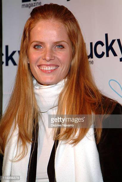 Rebecca Mader during Lucky Magazine Hosts 'Lucky Shops' Fundraiser Benefiting The Robin Hood Foundation at Gotham Hall in New York City New York...