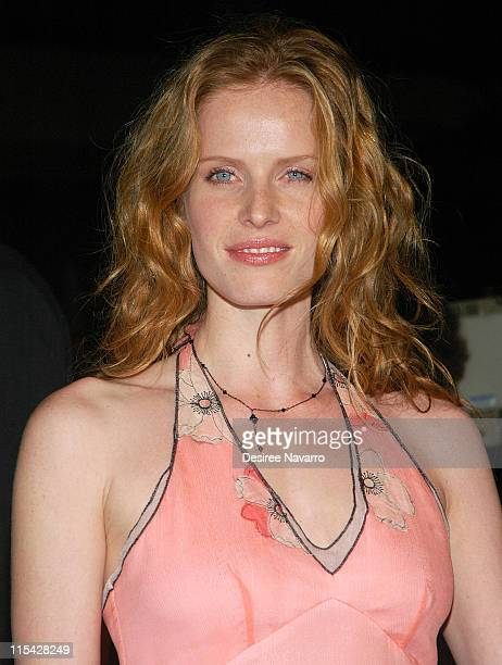 Rebecca Mader during 'Mission Impossible III' New York City Premiere Arrivals at Ziegfeld Theater in New York City New York United States