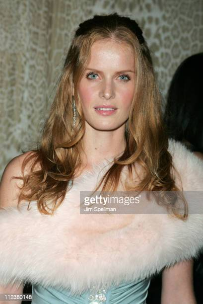 Rebecca Mader during Roberto Cavalli Hosts a Preview Gala for the Metropolitan Museum's 'WILD Fashion Untamed' Arrivals at The Great Hall...