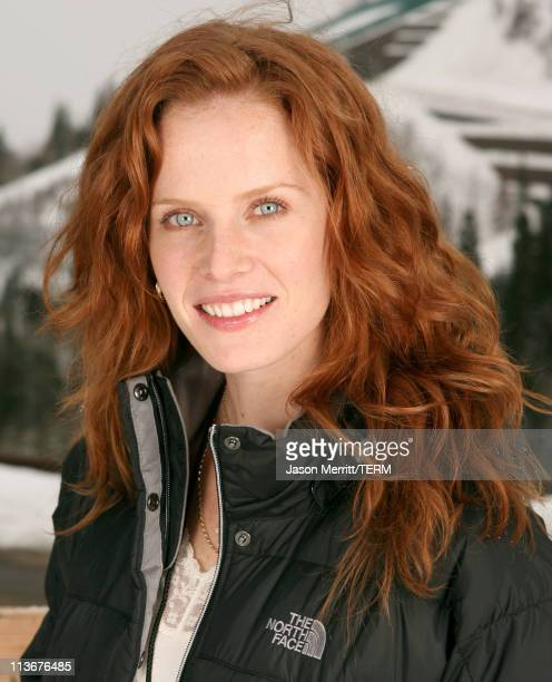 Rebecca Mader wearing The North Face at The Ice Lounge presented by The North Face Lexus and St Regis*Exclusive*