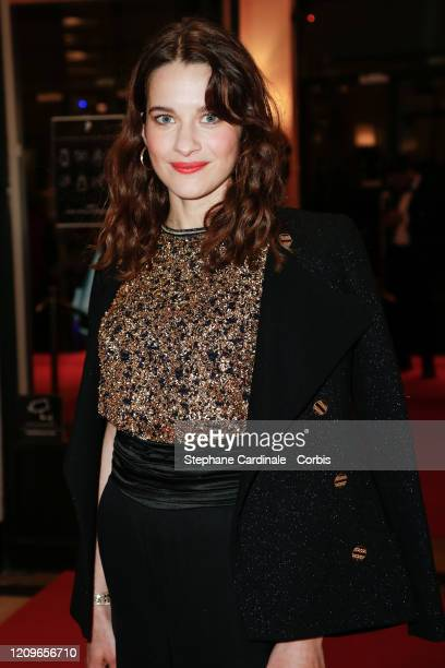 Rebecca Marder arrives at the Cesar Film Awards 2020 Ceremony At Salle Pleyel In Paris on February 28 2020 in Paris France