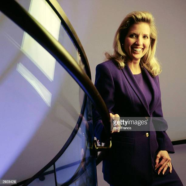 Rebecca Mark Azurix CEO photographed on April 11 2000 in Houston Texas