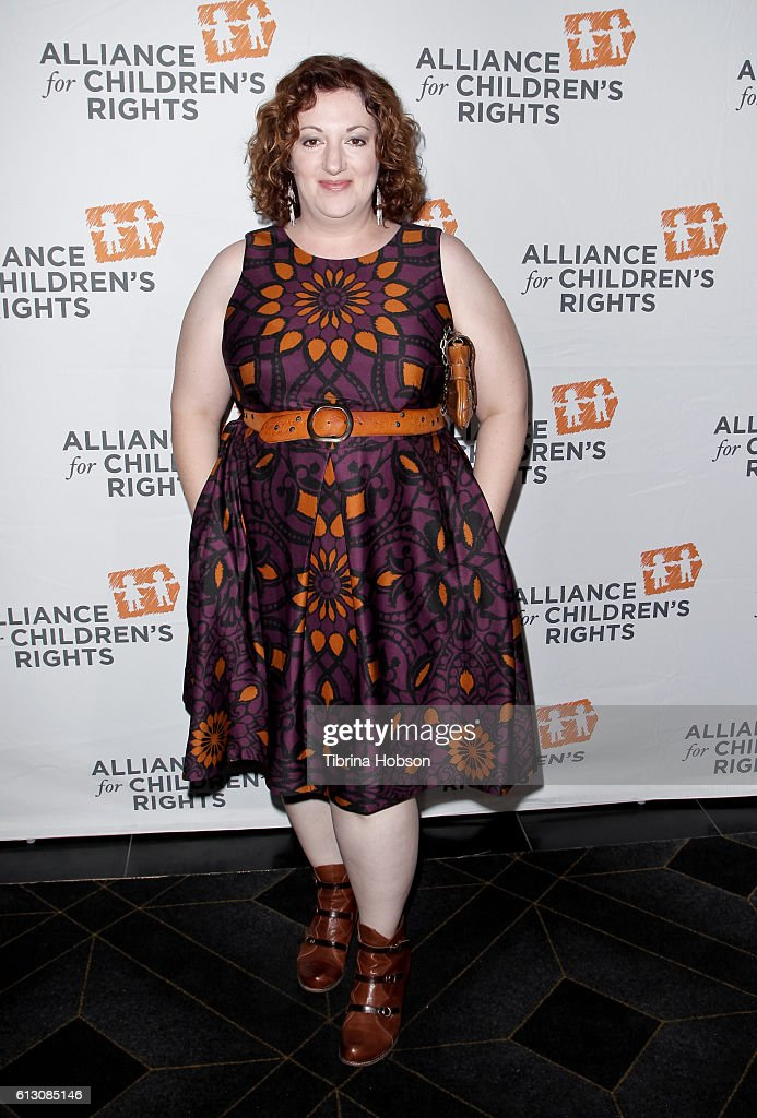 Rebecca Metz attends the 7th annual Right To Laugh Benefit at Avalon on October 6, 2016 in Hollywood, California.
