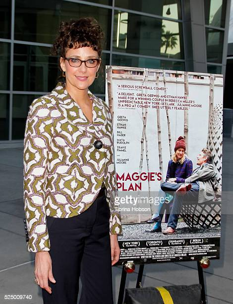 Rebecca Miller attends a special presentation of 'Maggie's Plan' at ArcLight Hollywood on April 26 2016 in Hollywood California