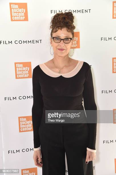 Rebecca Miller attends the 2018 Film Society Of Lincoln Center Film Comment Luncheon at Lincoln Ristorante on January 9 2018 in New York City