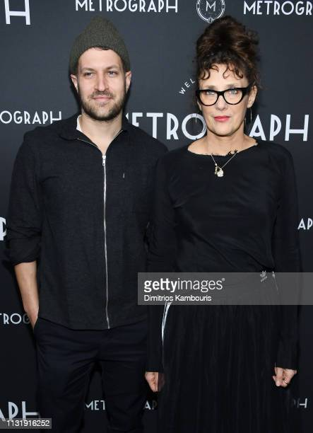 Rebecca Miller attends the Metrograph 3rd Anniversary Party at Metrograph on March 21 2019 in New York City