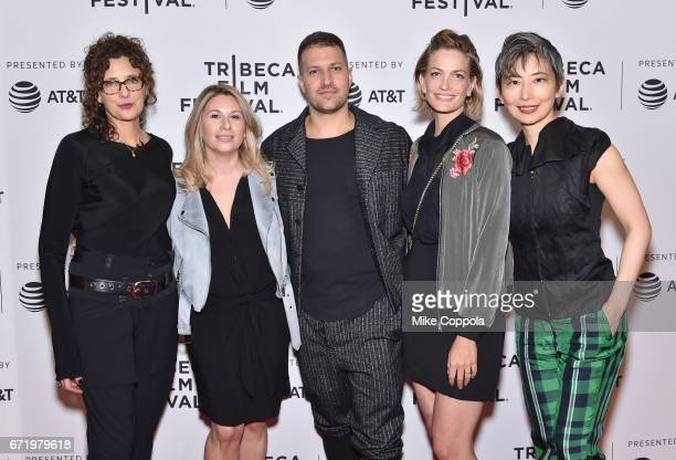 Rebecca Miller Mandy Tagger Damon Cardasis Adi Ezrone and Sharon Chang attend the 'Saturday Church' Premiere during the 2017 Tribeca Film Festival at...