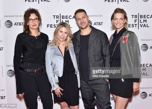 Rebecca Miller Mandy Tagger Damon Cardasis and Adi Ezrone attend the 'Saturday Church' Premiere during the 2017 Tribeca Film Festival at Cinepolis...