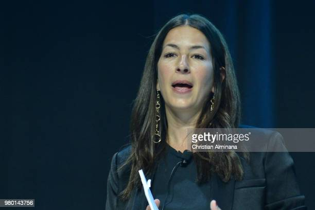 Rebecca Minkoff attends the Cannes Lions Festival 2018 on June 21 2018 in Cannes France